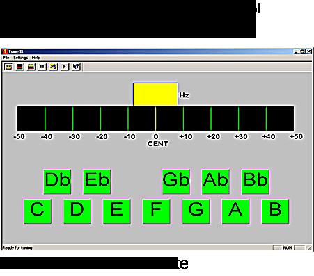 Tune It! v. 2.0 - скачать тюнер для гитары на компьютер