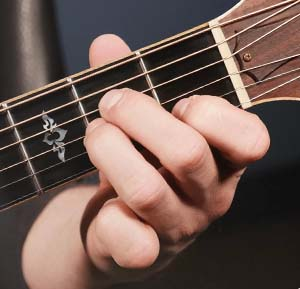 аккорд Am на гитаре