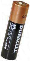 Пальчиковая батарейка типа AA