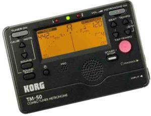 Combo tuner Korg TM-50