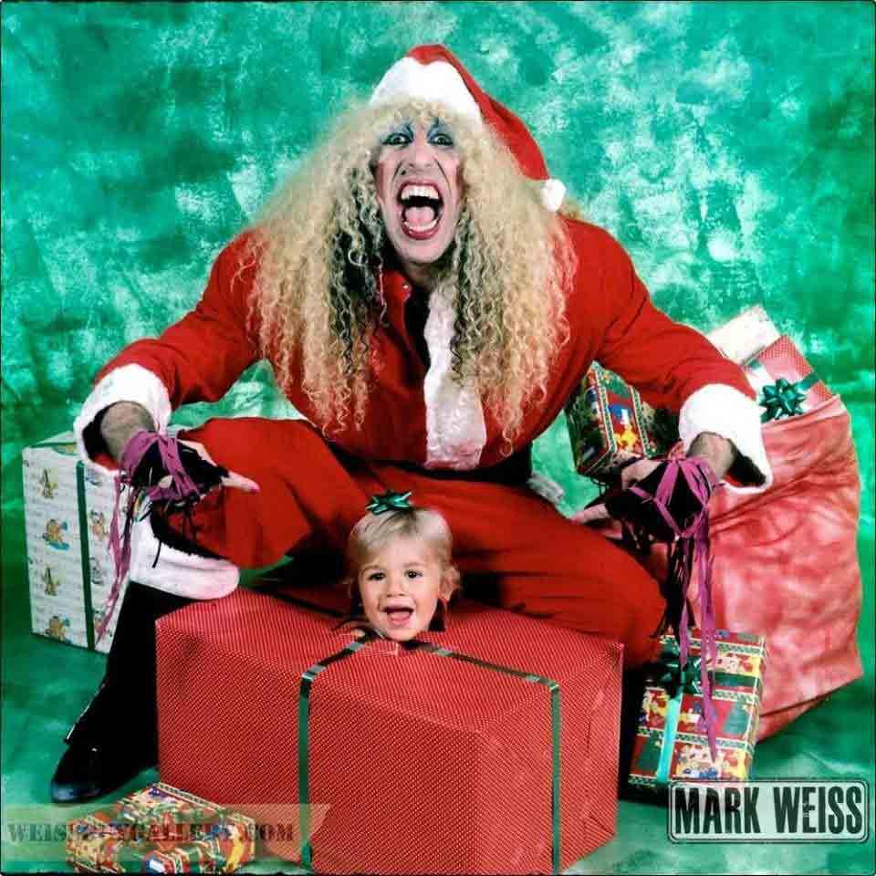 Dee Snider(Ди Снайдер) в образе Санта-Клауса