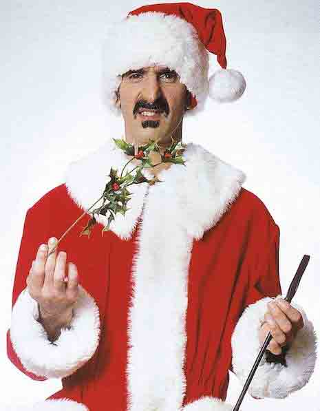Frank Zappa(Фрэнк Заппа) в образе Санта-Клауса