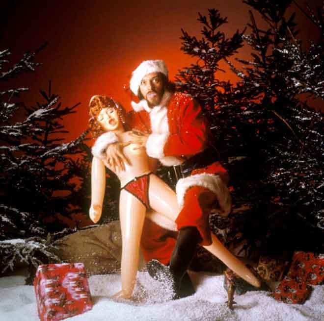 Ian Anderson(Иэн Андерсон) в образе Санта-Клауса