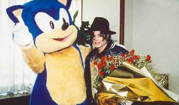 Michael Jackson(Майкл Джексон) Игра: Sonic the Hedgehog 3