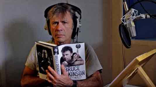 """Брюс Дикинсон: """"люди готовы платить больше за книгу, чем за альбом или песню"""""""