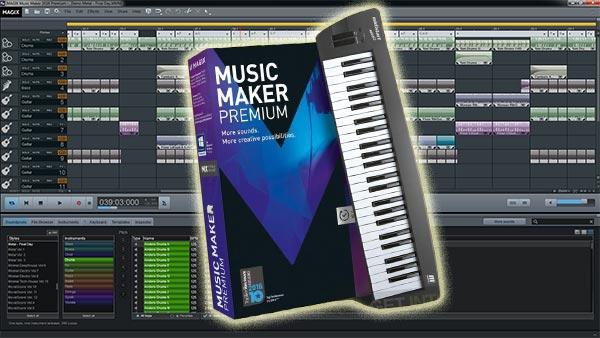 Magix Music Maker скачать торрент русская версия 2017 Premium