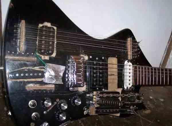 """Ужасающие """"улучшения"""" и способы ремонта гитары 1"""