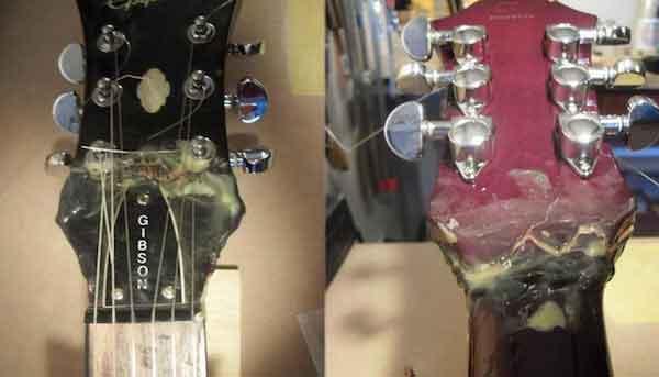 """Ужасающие """"улучшения"""" и способы ремонта гитары 26"""