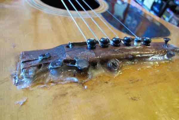 """Ужасающие """"улучшения"""" и способы ремонта гитары 2"""
