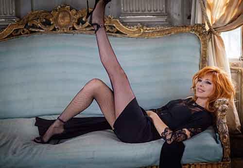 Милен Фармер часто называют французской Мадонной
