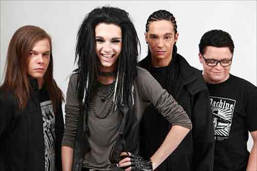 Немецкие глэм-рокеры Tokio Hotel