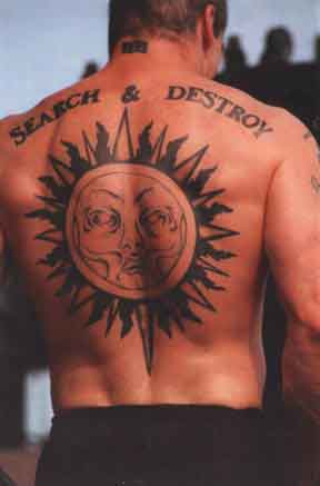 татуировка у Henry Rollins(Генри Роллинз)