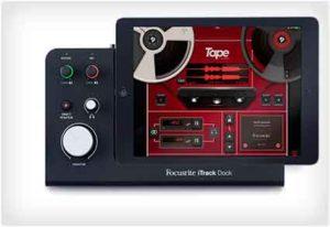 iTrack Professional Dock - гаджет для записи гитары на iPad