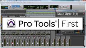 Первая версия - Pro Tools First