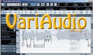 VariAudio в Cubase 5