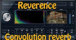 Convolution reverb - эффект реверберации имитирующий помещения, носит название Reverence