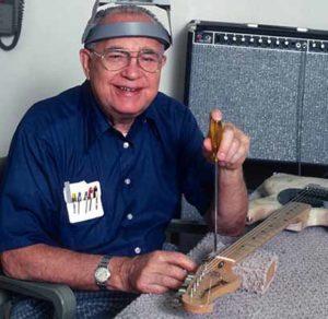 Основатель компании Fender - Лео Фендер