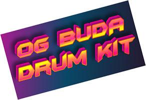 OG BUDA Drum Kit